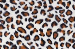 leopard γουνών ανασκόπησης σύσταση Στοκ Εικόνες
