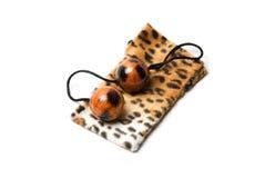 Leopard κολπικές σφαίρες Στοκ Εικόνες