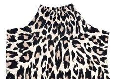 leopard σχεδίου πουλόβερ δερ& Στοκ Φωτογραφία
