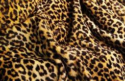 leopard τυπωμένη ύλη Στοκ φωτογραφία με δικαίωμα ελεύθερης χρήσης