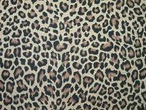 leopard υφάσματος Στοκ Φωτογραφίες