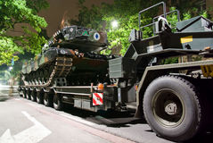 Leopard 2A4 Royalty Free Stock Photo