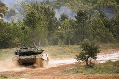Leopard 2A6 Stock Photography