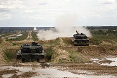 Leopard 2A6 Stock Images