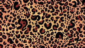 Leopard background fashion royalty free illustration