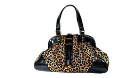 Leopard Bag Stock Image