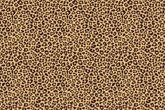 Leopard beige brown fur texture. Vector. Illustration Royalty Free Stock Images
