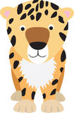 Leopard cartoon Royalty Free Stock Photos