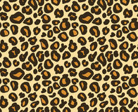 Leopard / cheetah skin seamless pattern, abstract animal background, vector illustration. Royalty Free Stock Photography
