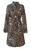 Leopard coat Stock Photography