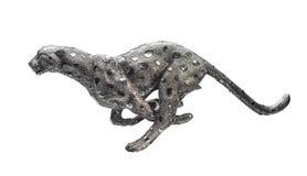 Leopard in der Bewegung Lizenzfreies Stockbild