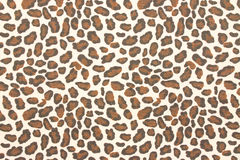 Leopard fabric background Stock Photos