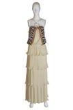 Leopard fashion dress Stock Images