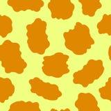 Leopard fur. Seamless vector leopard fur pattern Stock Photos