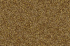 Leopard Fur. Computer Generated Leopard Fur. Suitable for Seamless Background Stock Photo