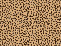 Leopard Fur Animal Background and texture, good for decoration stock illustration