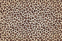 Leopard fur print, horizontal texture with dark borders. Vector. Illustration vector illustration