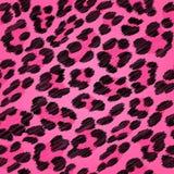 Leopard fur seamless scribble pattern. Leopard fur seamless scribble pattern - black and pink colors stock illustration