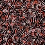 Leopard-Hintergrund Lizenzfreie Stockfotos