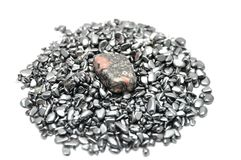 Leopard jasper mineral Stock Photos