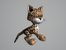 Leopard-Katze Stockfotografie