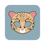 Leopard mask Royalty Free Stock Photography