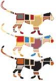 Leopard mosaics Royalty Free Stock Photography