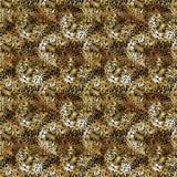 leopard pattern design, watercolor jaguar illustration. wild animal skin seamless background. royalty free stock image
