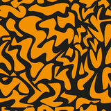 Leopard pattern, repeating vector background Stock Photography