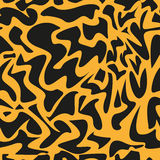 Leopard pattern, repeating vector background Royalty Free Stock Images