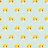 Leopard pattern. Royalty Free Stock Images