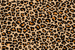 Leopard pattern texture repeating seamless Royalty Free Stock Images
