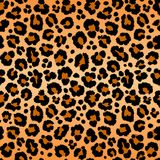 Leopard pattern texture repeating seamless orange black fur print skin. Leopard pattern texture repeating seamless yellow orange black fur print skin safari Royalty Free Stock Images