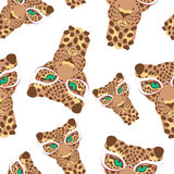 056 leopard pattern 01 Royalty Free Stock Image