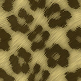 Leopard Print. A leopard print texture that tiles seamlessly as a pattern in any direction stock illustration