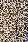 Leopard print material. Close up of some leopard print material Stock Photo