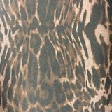 Leopard print material fabric pattern background Royalty Free Stock Image