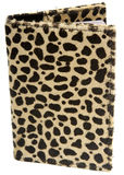 Leopard Print Passport Royalty Free Stock Image