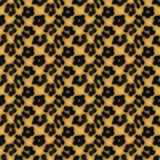 Leopard Print Pattern. A leopard print texture that tiles seamlessly as a pattern in any direction stock illustration