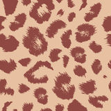 Leopard print pattern. Repeating background Stock Photo