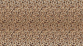 Leopard print pattern. Seamless pattern of leopard skin. Fashionable cheetah fur texture. Vector vector illustration