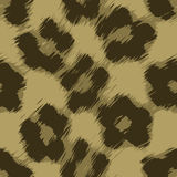 Leopard Print Vector. A leopard print texture that tiles seamlessly as a pattern in any direction stock illustration