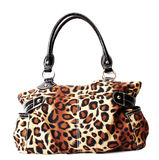 Leopard Purse Stock Photo