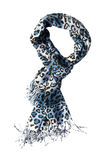 Leopard scarf Stock Images