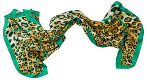 Leopard  scarf Royalty Free Stock Photography
