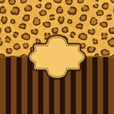 Leopard skin background Royalty Free Stock Photography