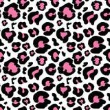 Leopard skin hand drawn. animal print drawing. Seamless Pattern. Vector Illustration. royalty free illustration