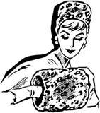 Leopard Skin Muffler Stock Images