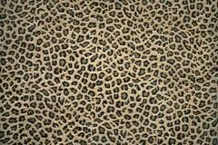 Leopard skin pattern. Close up shot of a fabric with leopard skin pattern royalty free stock photos