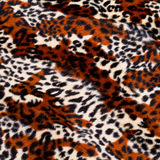 Leopard skin pattern Royalty Free Stock Photo